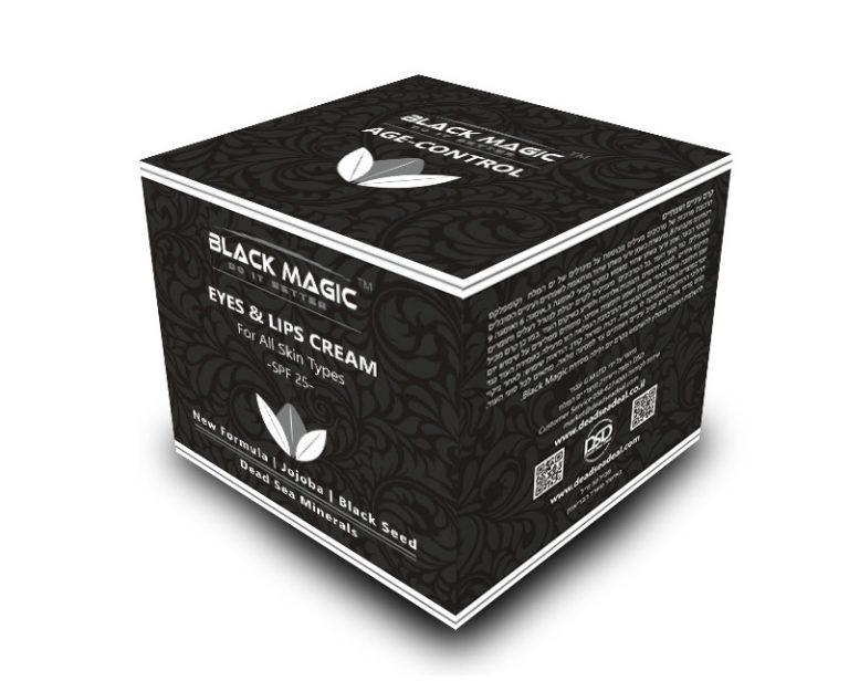BLACK MAGIC box EYE AND LIPS CREAM