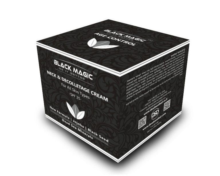 BLACK MAGIC box NECK AND DECOLLATAAGE CREAM
