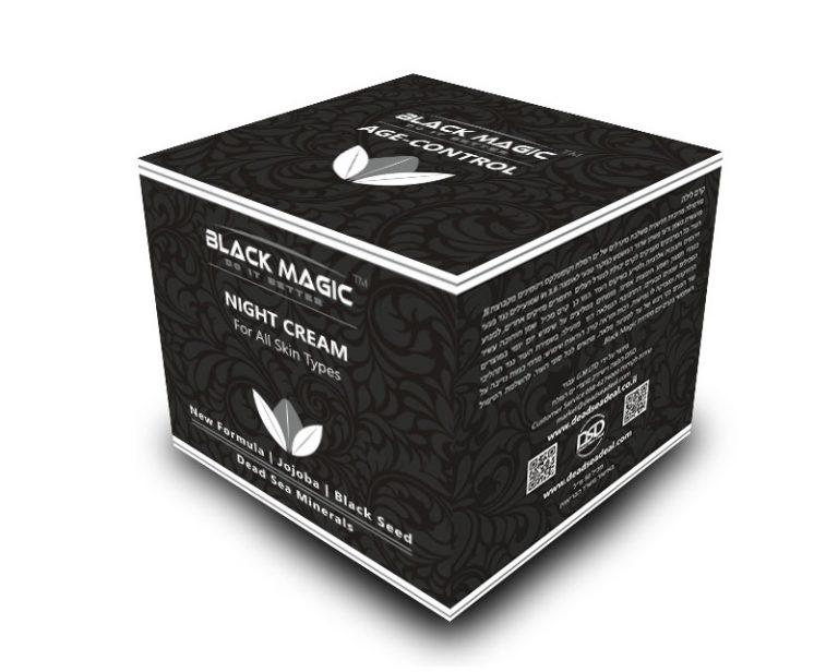 BLACK MAGIC box NIGHT CREAM