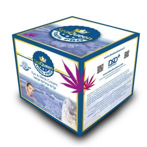 SEA QUEEN eye neck cream box